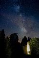 Млечен път през висока облачност (цируси) ; comments:1