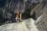 Marty Topping out on LAS, Yosemite Valley ; comments:24