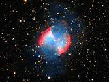 Планетарна мъглявина M27 (NGC 6853), type 3a+2, съзвездие Лисиче ; comments:26