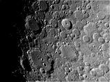 Лунните кратери Тихо и Клавдий ; comments:6