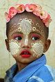 Макиаж по мианмарски ; comments:26