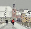 Regensburg, Steinerne Brücke ; comments:33