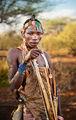 Портрет на млад ловец от племето Хадза, Танзания ; Comments:95