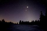 Юпитер и Венера над зодиакалната светлина вечер ; comments:7