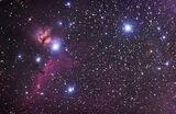 Мъглявините B33 (Конска глава; Horsehead Nebula),  Мъглявината ПЛАМЪК (Flame Nebula) в Орион ; comments:21