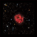 Мъглявината КАКАВИДА - IC 5146 (Cocoon Nebula) в съзвездието Лебед, заснета в 4 филтъра, общо експозиционно време 2 часа ; comments:39