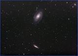 Двойката галатики М81 и М82 опит 2 ; comments:14