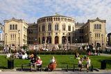 Осло - сградата на Парламента ; comments:16