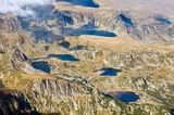 Въздушна снимка над Седемте рилски езера ; comments:28
