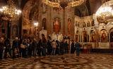 """Поклонение пред иконата """"Достойно есть"""", подарена от Атон, по случай 100 год. от откриването на катедралния храм """"Св. Ал. Невски"""" ; comments:6"""