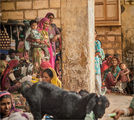 Пазарят в Джайсалмер-Раджастан ; comments:68