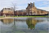 Градините Тюлери - поглед към улица Риволи ; comments:22