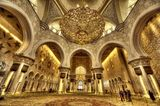 Sheikh Zayed Grand Mosque, Abu Dhabi, UAE ; comments:40