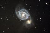 Галактиката M51 и NGC 5195 ; comments:10