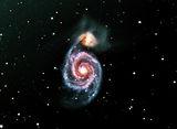 Галактиката M51 и NGC 5195 ; comments:11