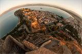 Нафплио,Гърция-поглед от крепоста Паламиди ; comments:89