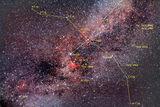 Съзвездието Лебед - описание на някои от по-интересните обекти. ; comments:5