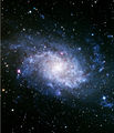 Галактиката М33 Triangulum galaxy ; comments:14