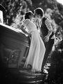 Катя и Илиян върху сватбената си лимузина:) ; comments:10