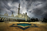 Sheikh Zayed Grand Mosque, Abu Dhabi, UAE ; comments:42