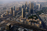 A view from Burj Khalifa, Dubai ; comments:26