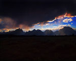 Storm Over the Grand Teton ; Comments:5