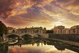 Рим - мостът към двореца Ди Анджело и Ватикана... ; comments:16