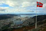 Bergen from the top ; comments:5