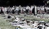 Най-дългата сватбена софра на Балканите ; comments:5