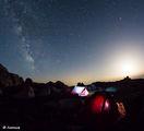 Палатков лагер под Калините, Млечния път и залязващата луна ; comments:17