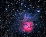 M20 Trifid nebula ; comments:11