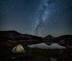Жабешко езеро и Муратов връх сред нощния покой ; comments:29