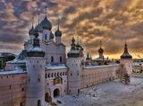Холодный закат в Ростове ; comments:12