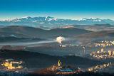 Велико Търново по време на изгрев ; comments:18