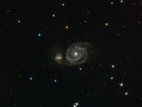 Galaxies M51 and NGC5195 in Canes Venatici ; comments:5