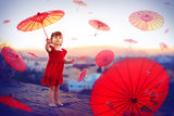 The Girl With Umbrellas ; comments:22