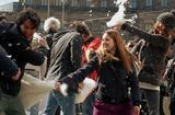 Pillow fight in Dam Square ; No comments