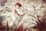 Cherry Blossoms Portrait ; comments:81