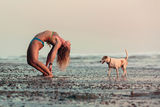 Playa Hermosa, Costa Rica - Portrait with a dog ; Comments:16