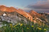 вр. Вихрен и Мраморното било на Пирин планина по залез слънце ; comments:20