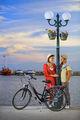 Джулия и Антоан за Велосипеди Спринт ; comments:13