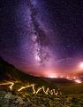 Млечния път над планинския път ; comments:41