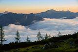 Мразовито утро над реката от мъгла ; comments:30