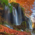 Varovitetc waterfalls panorama photo... ; comments:40