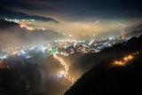 Град Своге, погълнат в мъгла. ; comments:51