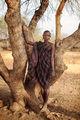 Младо момиче от племето мурси. ; comments:32