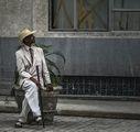 Ретро господин в Хавана, Куба ; comments:16