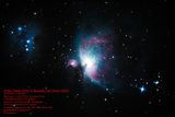 Orion Nebula (M42) & Running Man Nebula (M43) ; comments:3