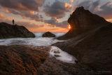 Рибарят, морето и изгревът ; comments:73