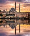 "Залез над ""Yeni cami"", Истанбул ; comments:28"